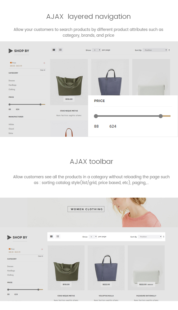 Lavoro - Fashion Shop Responsive Magento Theme