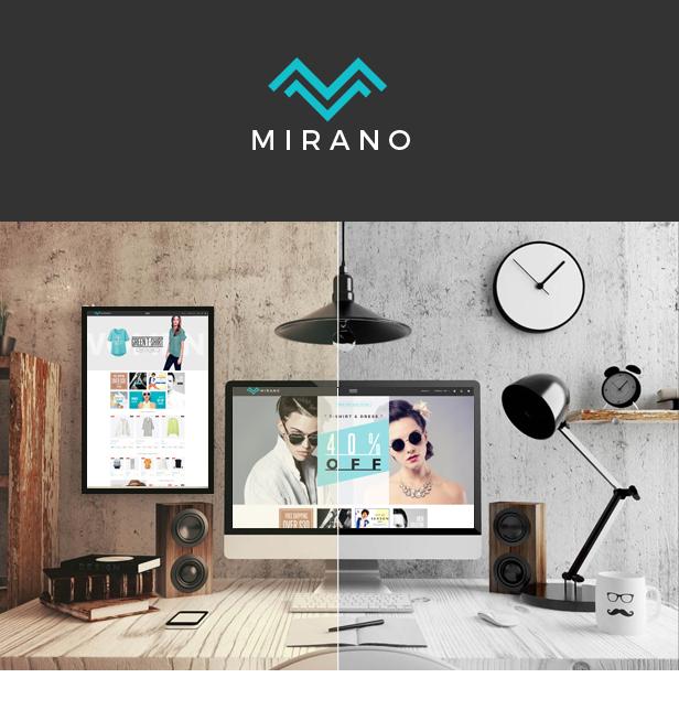 Mirano - Multipurpose Responsive Magento Theme
