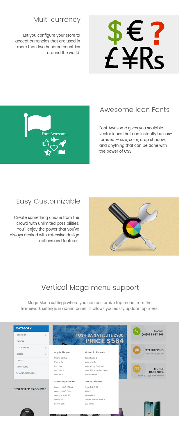 Stepre - Multipurpose Responsive Magento Theme