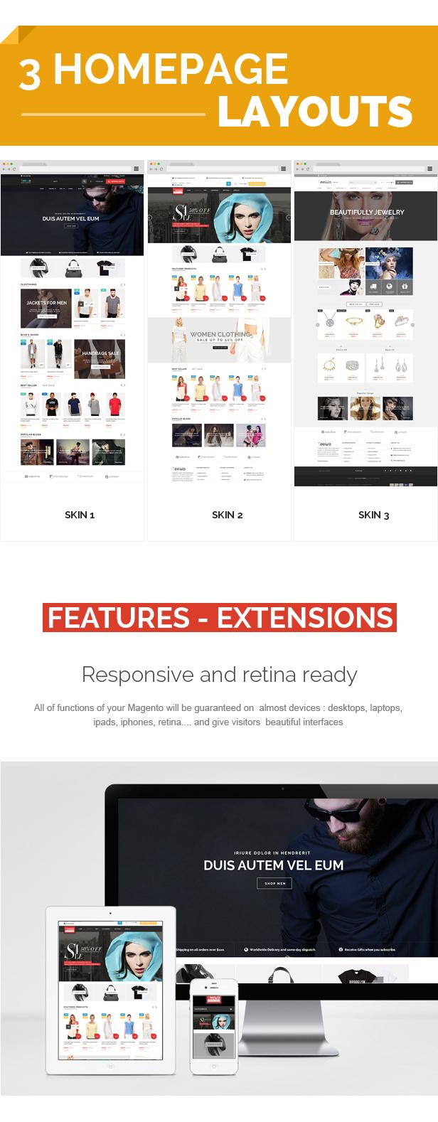 Teemo - Multipurpose Responsive Magento Theme