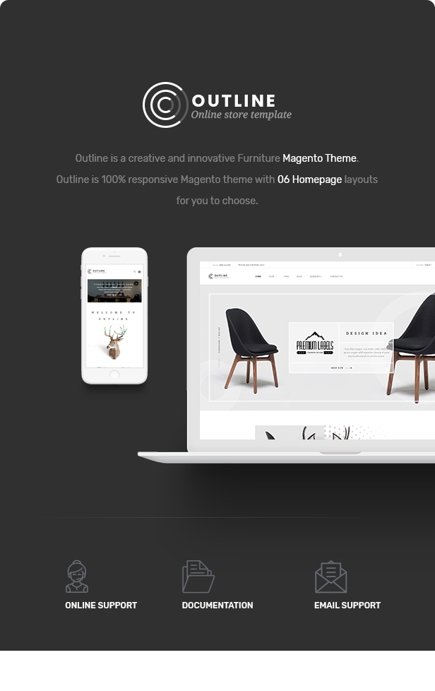 des 01 - Outline - Responsive Furniture Magento Theme